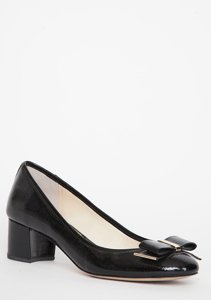 Michael Kors Black Patent Leather Shoes